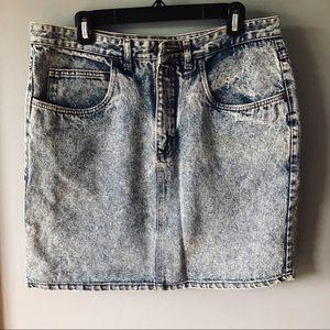 Forenza Jeans denim skirt